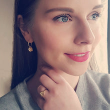 Poppy Hoops Earrings - Gold Plated
