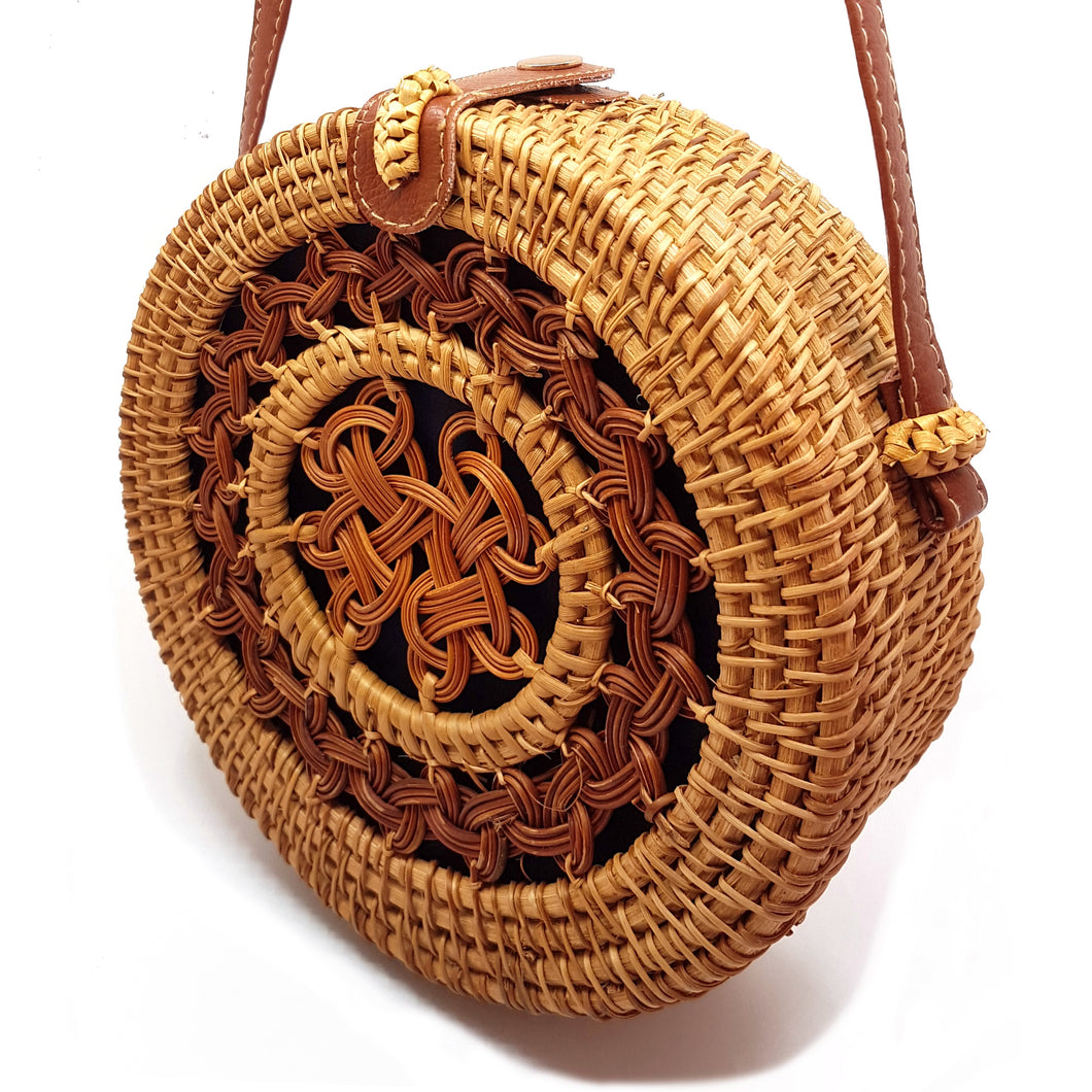 Detailed Rotan Bali Bag