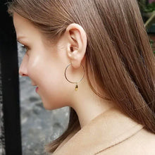 Antwerp Hand Hoop Earrings - Gold Plated - Small Hands