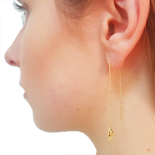 Antwerp Hand Chain Earrings - Gold Plated - Small Hands