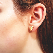 Antwerp Hand Studs Earrings - Gold Plated - Big Hands