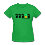 Be Different Women's T-Shirt - bright green