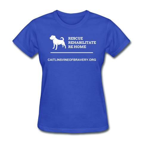 Rescue Women's T-Shirt - royal blue