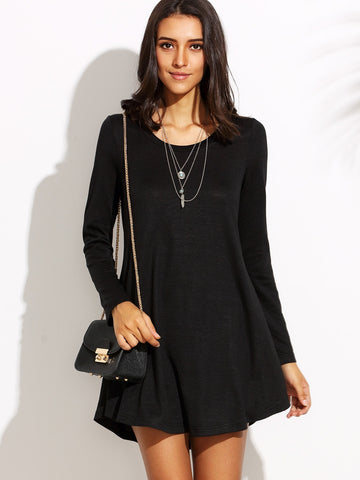 Fit And Flare Tee Dress