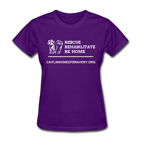 Volunteer Women's T-Shirt - purple