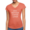 Dog Mother Coffee Lover - heather bronze