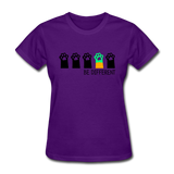 Be Different Women's T-Shirt - purple