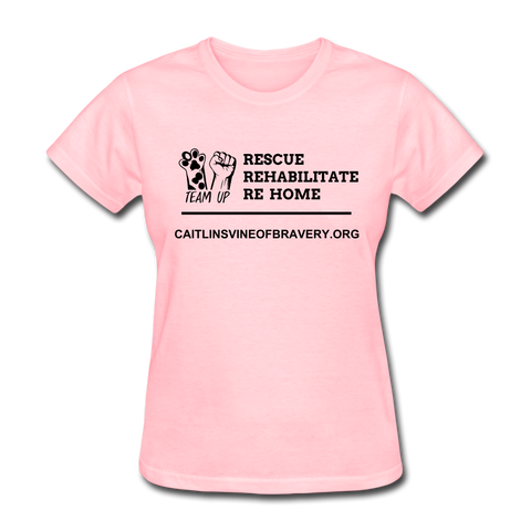 Volunteer Shirt Women's T-Shirt - pink