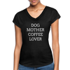 Dog Mother Coffee Lover - black
