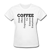 Coffee Women's T-Shirt - white