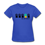 Be Different Women's T-Shirt - royal blue