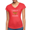 Life Is Golden - heather red