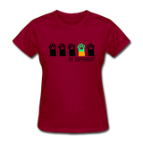 Be Different Women's T-Shirt - dark red