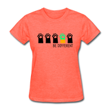 Be Different Women's T-Shirt - heather coral