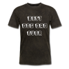 BEST DOG DAD EVER Men's T-Shirt - mineral black