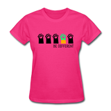 Be Different Women's T-Shirt - fuchsia