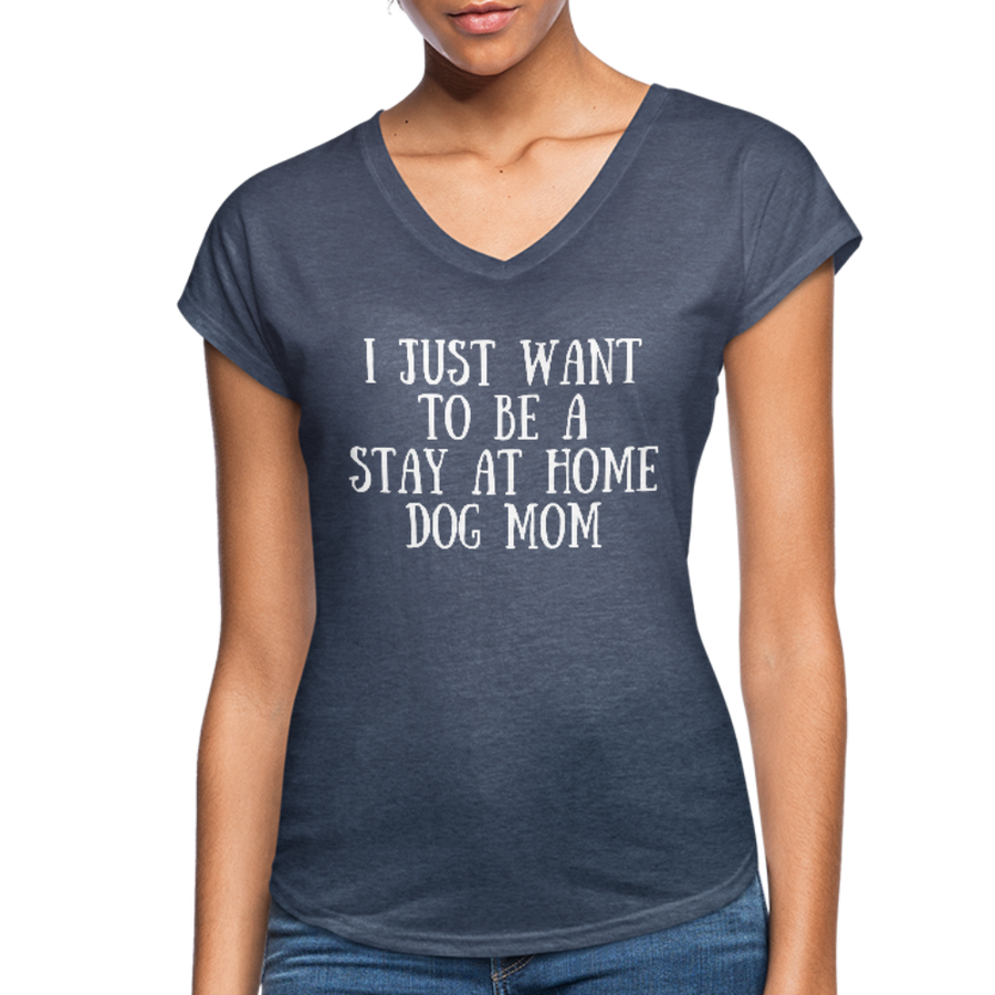 I just want to be a stay at home dog mom - black