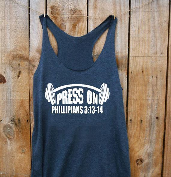 Press On- Ladies Tanktop