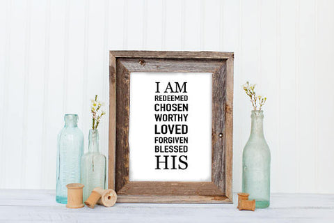 I Am His, I Am Redeemed