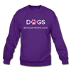 Dogs ( because people suck ) - purple
