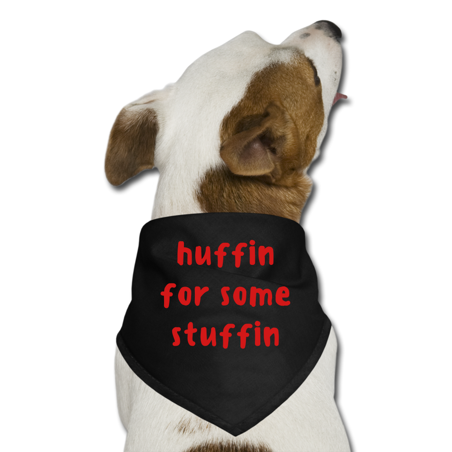 Huffin For Some Stuffin - white