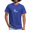 I Am More Unisex Jersey T-Shirt by Bella + Canvas - royal blue