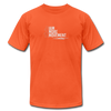 I Am More Unisex Jersey T-Shirt by Bella + Canvas - orange
