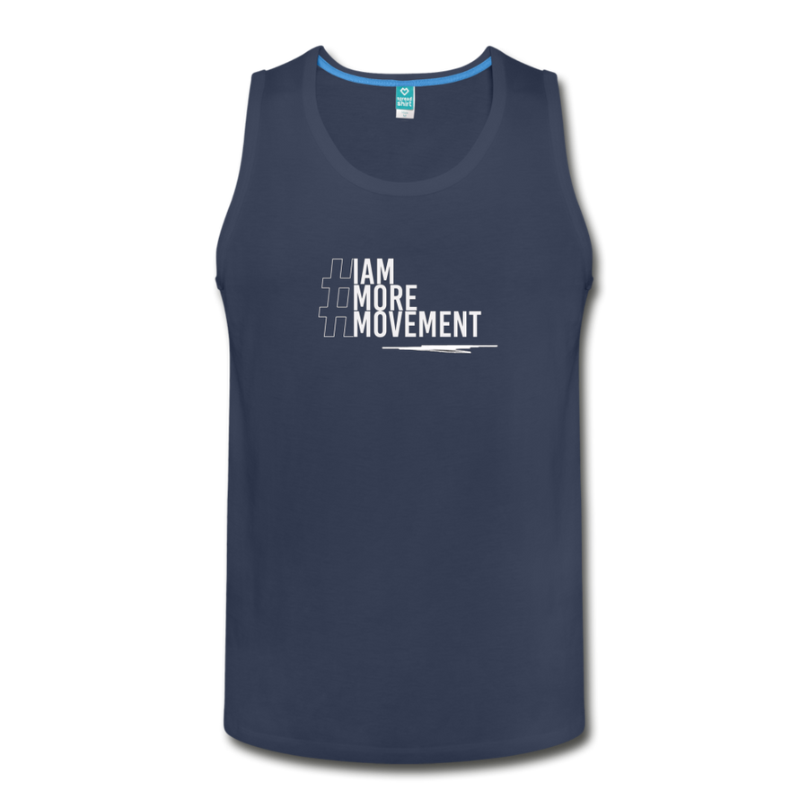 I Am More Men's Slim Fit Premium Tank