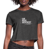 I Am More Women's Cropped T-Shirt - deep heather