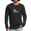 I Am More Men's Premium Long Sleeve T-Shirt - black