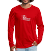 I Am More Men's Premium Long Sleeve T-Shirt - red