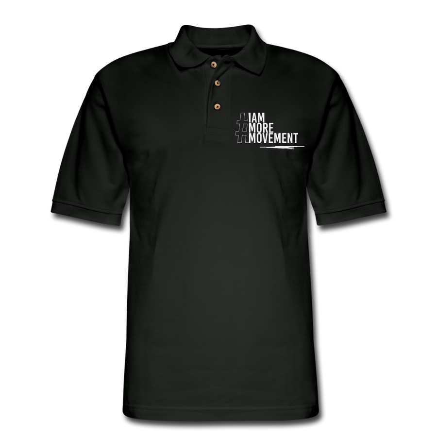 I Am More Men's Pique Polo Shirt