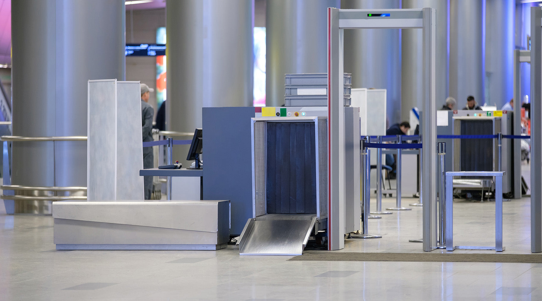 Smart Step provides Premium Standing Solutions to government agencies such as TSA