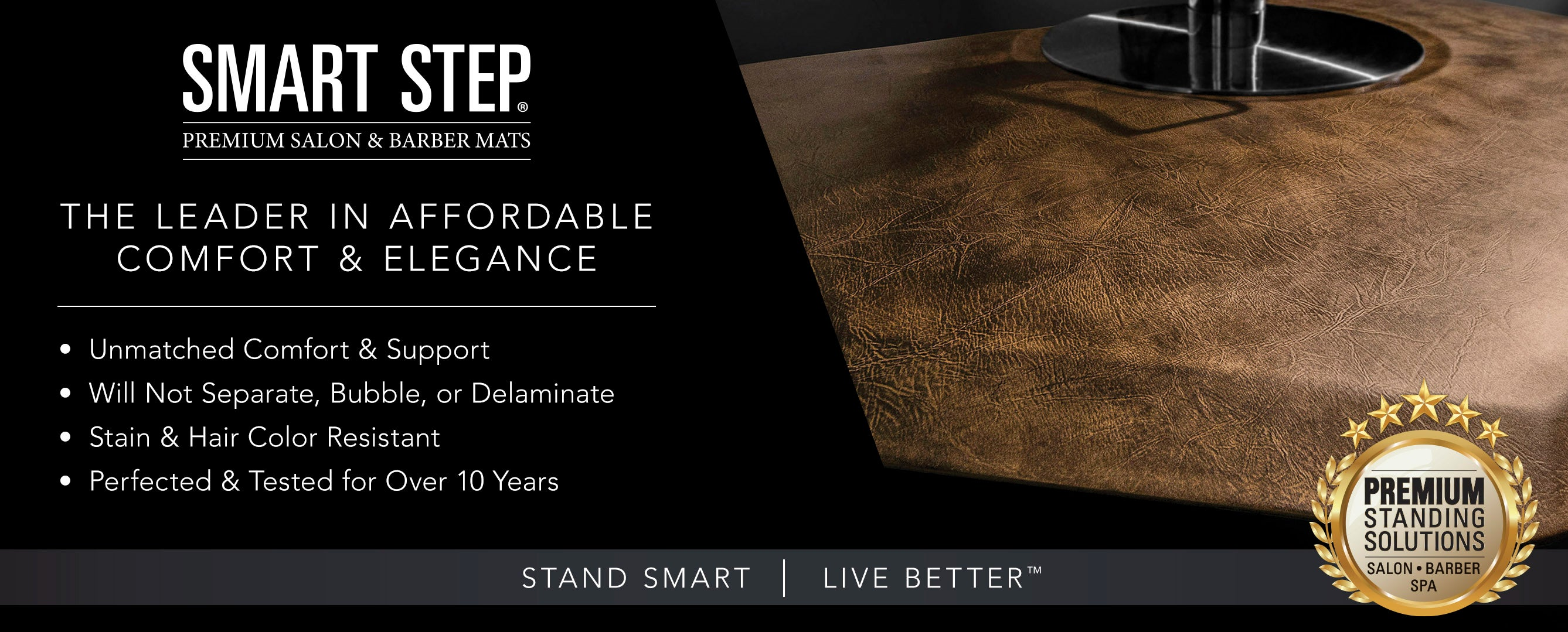 Smart Step Premium Standing Solutions for Salon and Barber