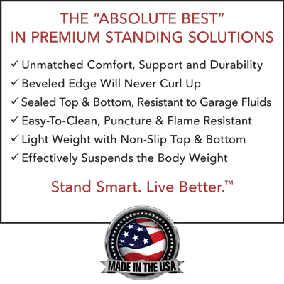 "The ""Absolute Best"" in Premium Standing Solutions – Stand Smart. Live Better.™"