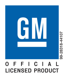 GM Official Licensed Product 99-28318-44107