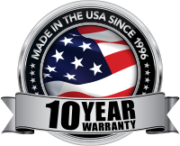 10 Year Warranty - Made in the USA