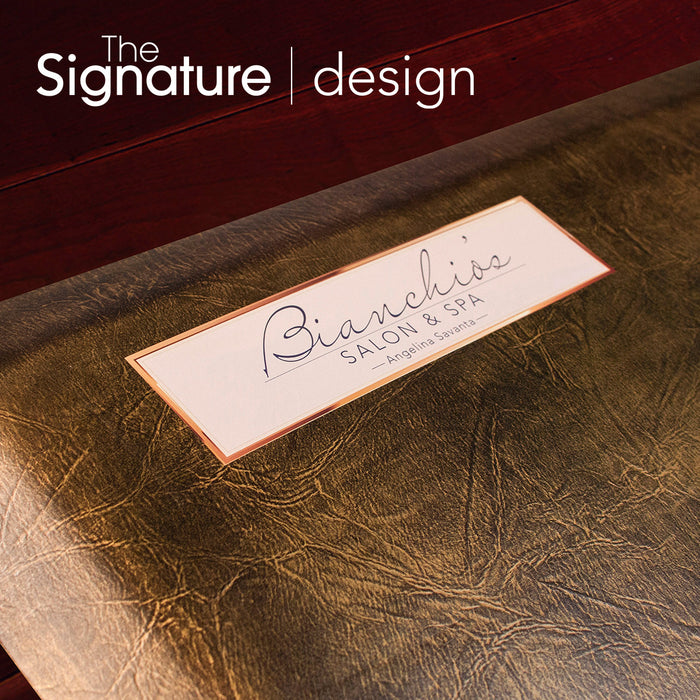 Salon and Barber Signature Design Application