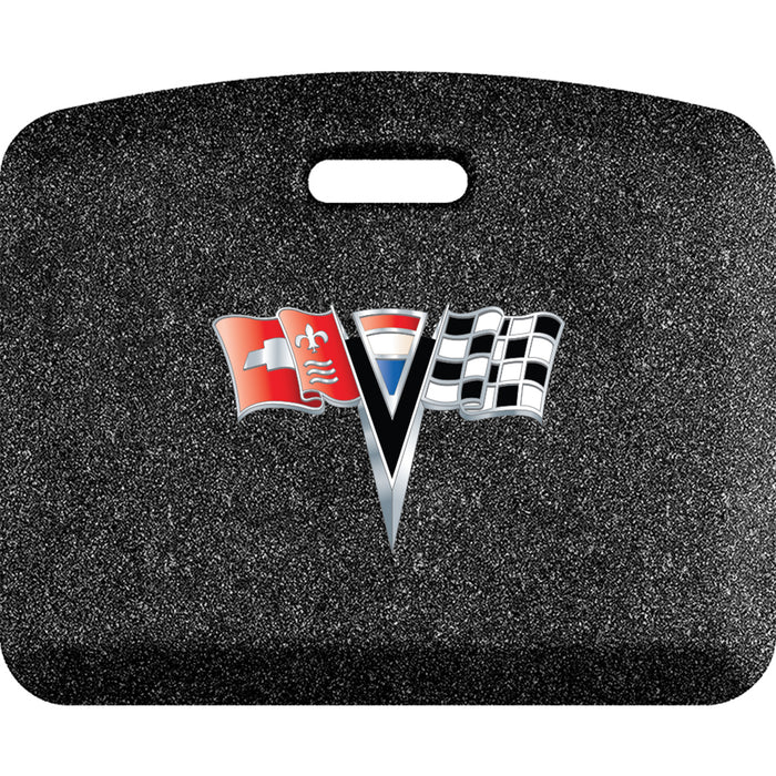 Smart Step Premium Standing Solution w/ C2 Corvette Logo - Mosaic Onyx