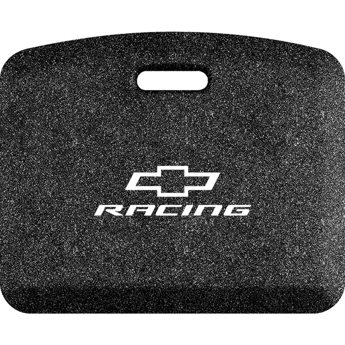 Smart Step Premium Standing Solution w/ Chevrolet Racing White Logo - Mosaic Onyx
