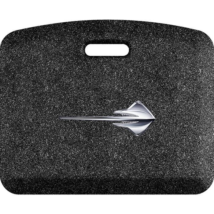 Smart Step Premium Standing Solution w/ C7 Corvette Stingray Horizontal Logo (multiple sizes & colors)