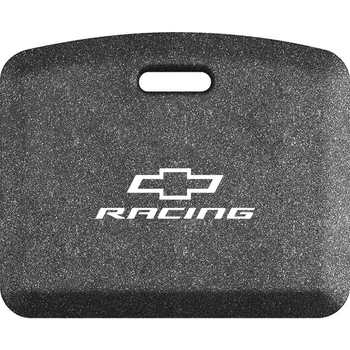 Smart Step Premium Standing Solution w/ Chevrolet Racing White Logo - Mosaic Steel