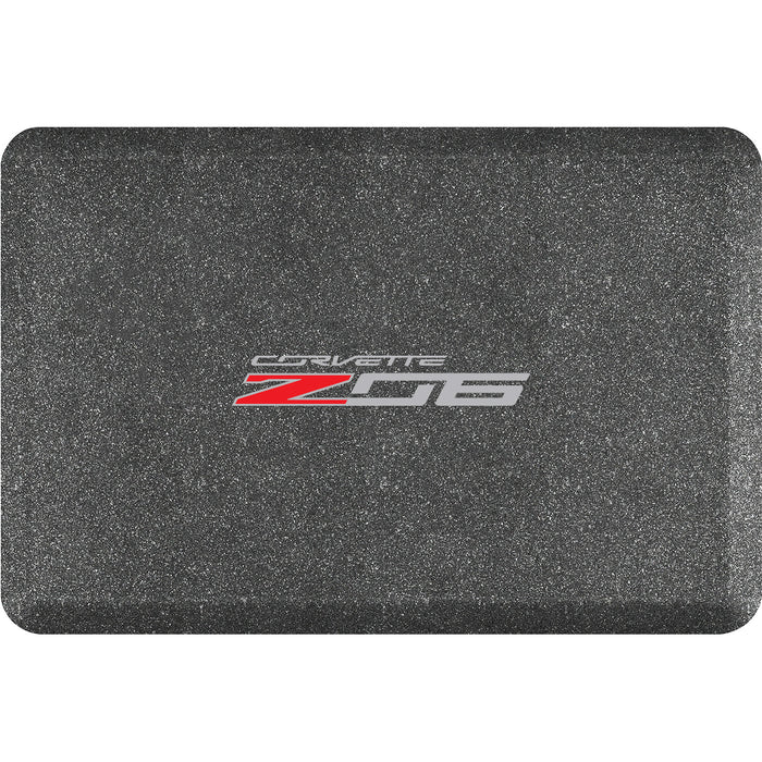 Smart Step Premium Standing Solution w/ Corvette Z06 Horizontal Logo (multiple sizes & colors)