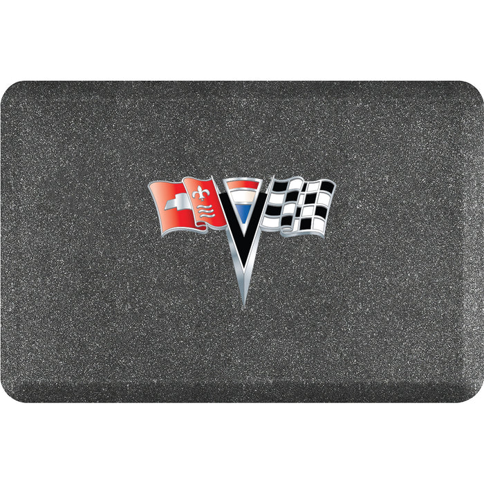 Smart Step Premium Standing Solution w/ C2 Corvette Logo (multiple sizes & colors)