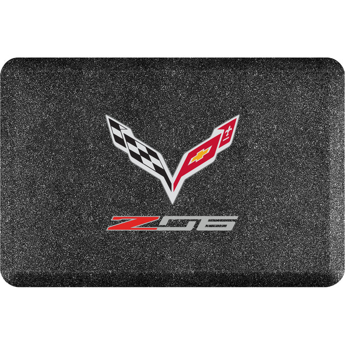 Smart Step Premium Standing Solution w/ Corvette Z06 Logo (multiple sizes & colors)