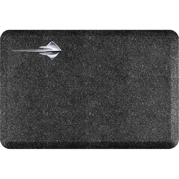 Smart Step Premium Standing Solution w/ C7 Corvette Stingray Horizontal Logo - Mosaic Onyx