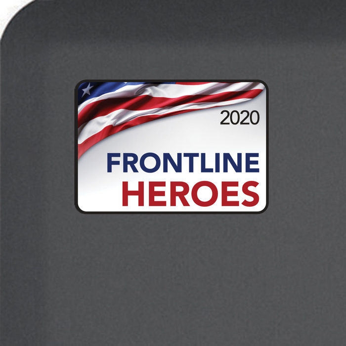 Smart Step Dedicated COVID-19 Standing Solutions - Frontline Heroes
