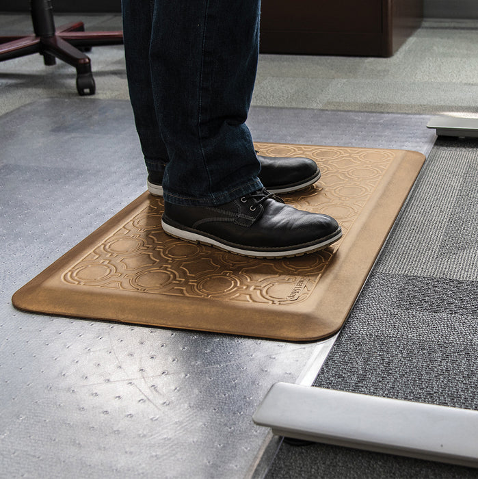 Smart Step Stand Smart Standing Desk Mat - Maple