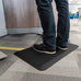 Smart Step Stand Smart Standing Desk Mat - Black