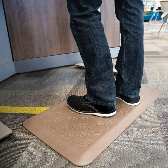 Smart Step Stand Smart Standing Desk Mat - Bamboo
